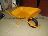 Wheelbarrow mais barato revestido do pó diferente da cor (WB6400)