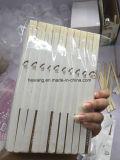 寿司のための半ペーパーによって包まれるベニヤのタケ使い捨て可能なタケ箸