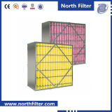 De midden Filter van de Lucht van de Doos van de Airconditioner van de Efficiency Schoonmakende