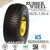 Hand-LKW-Reifen-Laufkatze-Reifen-pneumatischer Eber-Rad-Gummireifen 3.50-4