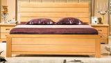 Camas matrimoniales modernas de la cama de madera sólida (M-X2246)