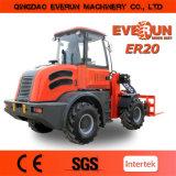 Cargador articulado Multi-Fuction aprobado de la rueda de 2.0 toneladas del CE de la marca de fábrica de Everun