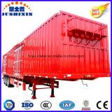 3半車軸50tバルク貨物トラックのトレーラーか貨物または便利箱のトレーラー