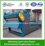 Filtre-presse avancé de courroie pour l'asséchage de cambouis