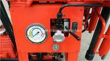 Perforadora portable del receptor de papel de agua de la plataforma de perforación de la base Xy-1