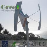 Corelessの永久マグネット発電機が付いている300W小さい縦の風車