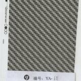 Papel de imprenta negro de la transferencia del agua de la película de Hydrographics del carbón 3D de Yingcai