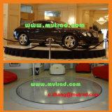 Estacionamiento Económico Movible Motor Portátil Familia de la Impulsión Salón de Exposiciones Edificio Vehículos Auto Revolución Girar Coche Móvil Giratorio Auto Turning System