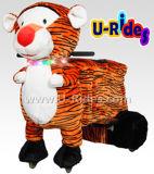 Езды животного тигра гуляя для малышей