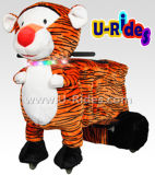 Passeios de passeio do animal do tigre para miúdos