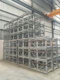 Double élévateur de construction de levage de passager de cage de Sc200/200 2ton