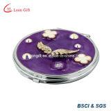 De beste Spiegels van het Metaal van de Gift Gegraveerde Kosmetische Uitstekende kwaliteit