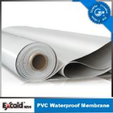 Folhas Waterproofing da membrana do PVC do telhado para telhados