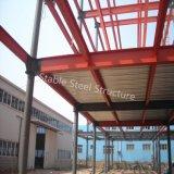 Edificio per uffici Multi-Storey della struttura d'acciaio di alto aumento con la parete del blocco