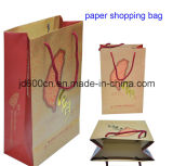 Bolsa de papel al por mayor modificada para requisitos particulares/bolsa de papel de papel del regalo Bag/Shopping/bolsa de papel de Kraft