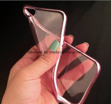 Alta qualidade Electroplate TPU Caso para o iPhone 6 Cell/Mobile Phone Cover/Case