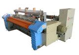 Hoja de base casera de la materia textil que hace el telar del jet del aire de la máquina