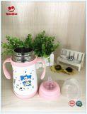bottiglia per il latte dell'acciaio inossidabile 260ml con l'anti capezzolo Colic
