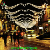 Outdoor Street Decoration LED Star Christmas Light