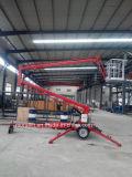 plate-forme articulée par hauteur de levage de travail aérien de 12m avec du CE