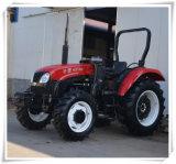 80HP 4WD de Tractoren van het Landbouwbedrijf met Ce