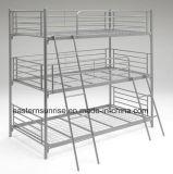 Acier 3 bâtis de couchette bon marché triples en métal de rangée du dormeur 3
