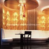 Enterprise Image Wall Background를 위한 Soundproof 내화성이 있는 3D PVC Panel