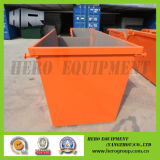 8m Orange Outdoor Skip Bin Door 없음