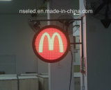 Enregistrer le signe au néon du présentateur DEL de logo de marque nommée