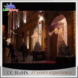 크리스마스 훈장 3D 주제 백색 각 조각품 휴일 빛