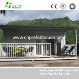 Het moderne Geprefabriceerd huis van het Huis met de Structuur van het Staal
