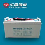batería del gel de la estación de la energía solar de 12V 120ah