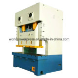 Máquina de la prensa de potencia mecánica de la manivela del doble del marco de 250 toneladas C