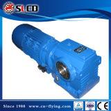 Serie-Reduzierer 90 Grad-Antriebswelle-Getriebemotor-schraubenartiges Wurm-Fahrwerk-Reduzierer-Laufwerk