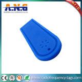 Пассивный силикон бирки прачечного UHF/бирка длиннего ряда RFID анти- - кислота
