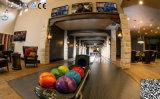 Generalüberholte Bowlingbahn mit Neonlaser-Beleuchtung