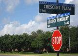 Pfosten hing Verkehr AluminiumRefelective Endsicherheits-Zoll-Straßenschild ein