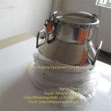 Recipiente de armazenamento hermético do leite cru de aço inoxidável de 15 litros