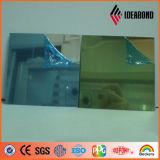 El panel compuesto de Auminium del espejo para la decoración