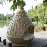 Foshan-Nest-Muster-große Nichtstuer-Rattan-Möbel