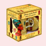 Caisse d'emballage rotatoire de couleur de papier de rasoir avec le modèle de mode