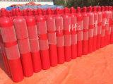 cylindre sans couture à haute pression d'acier d'argon d'azote d'anhydride carbonique de l'oxygène 35L