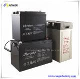 Батарея 12V100ah геля длинной жизни поставщика высокотемпературная для солнечной силы