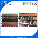中国からの石造りの上塗を施してある金属の屋根ふきシートのタイルか産業メタ探知器