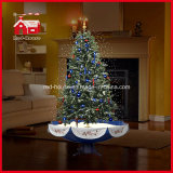 Nuovo Design Snowing Christmas Tree con Music per natale Celebration