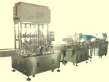 Bottle de alta calidad Sauce Filling Machine con Capping y Labeling Line (GHAPF-6)