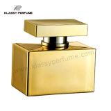 De zwaargewicht Fles van het Glas van het Parfum met Goede Kwaliteit Metalizing