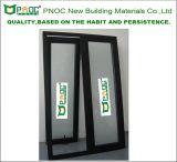 Окно энергосберегающего алюминиевого профиля верхнее повиснутое с Tempered стеклом