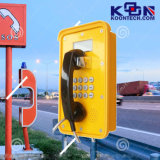 O telefone Knsp-16 do SORVO de Kntech Waterproof Telehone industrial, intercomunicador industrial, telefone Emergency