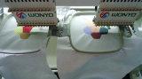 Машина вышивки Wonyo 2 компьютеризированная головкой для крышки/шлема/тенниски/логоса/вышивки квартиры/одежд